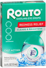 Rohto Cool Eye Drops - 0.4 Ounces - 1 Each