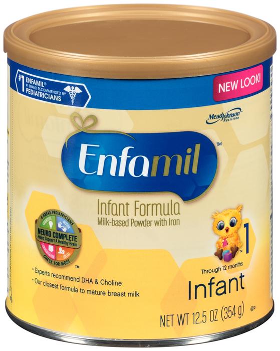 Enfamil Premium Infant Formula With Iron Powder - 12.5 Ounces
