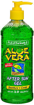 Fruit of the Earth Aloe Vera After Sun Gel - 20 oz