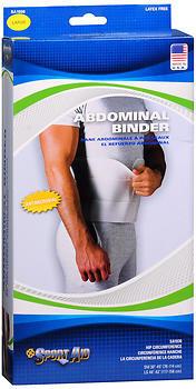 Sport Aid Abdominal Binder Large - 1 Each