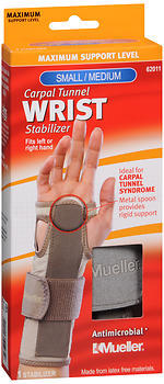 Mueller Sport Care Carpal Tunnel Wrist Stabilizer Small/Medium - 1 Each
