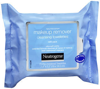 Neutrogena Make-Up Remover Cleansing Towelettes Refill Pack  -  25 EA