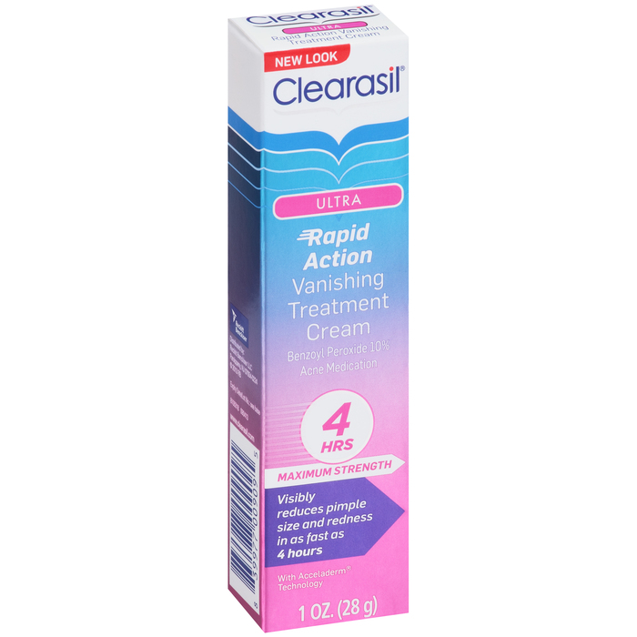 Clearasil Ultra Rapid Action Vanishing Treatment Cream For Acne