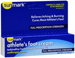 Sunmark Athlete's Foot Cream Full Prescription Strength - 1 Ounces - 1 Each