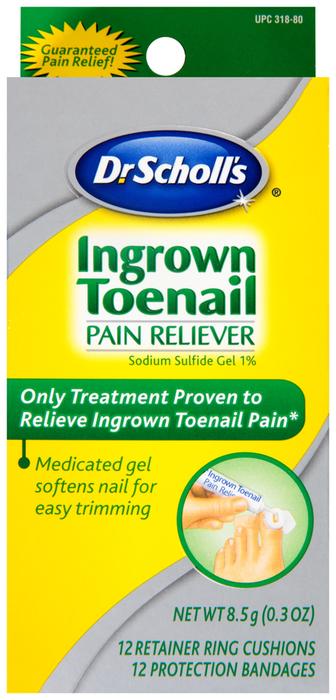 Dr. Scholl's Ingrown Toenail Gel  -  8.5 GM