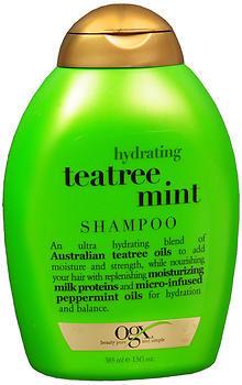 Organix Hydrating Teatree Mint Shampoo - 13 Ounces