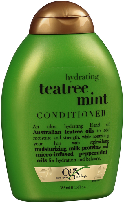 Organix Hydrating Tea Tree Mint Conditioner - 13 Ounces