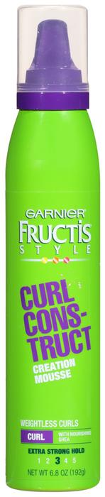 Garnier Curl Construct Mousse, Extra Strong  - 6.8oz
