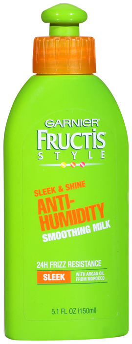 Garnier Fructis Style Anti-Humidity Smoothing Milk Sleek and Shine  -  5.1 OZ