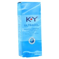 K-Y Sensual Silk Ultragel Lubricant - 1.5 Ounces