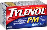 Tylenol Pain Reliever/Sleep Aid, Extra Strength, Geltabs  - 24ea