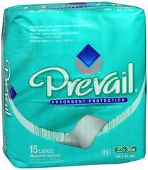 Prevail Regular 15 Underpads - Case of 10 Packs
