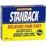 Stanback Headache Powders, Original Formula  - 50ea