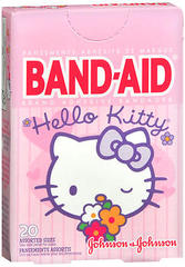 BAND-AID Bandages Hello Kitty Assorted Sizes - 20 EA