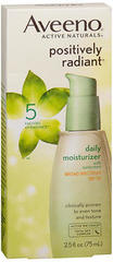 AVEENO Positively Radiant Daily Moisturizer SPF 30 - 2.5 OZ