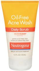 Neutrogena Oil-Free Acne Wash Daily Scrub - 4.2 OZ
