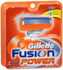 Gillette Fusion Power Cartridges 4-Pack - 4 EA