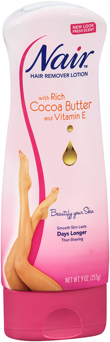 Nair Lotion For Body Cocoa Butter With Vitamin E - 9 OZ