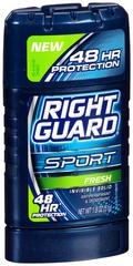 Right Guard Sport 3D  Anti-Perspirant Deodorant Stick Fresh - 1.8 Ounces