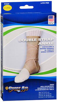 Sport Aid Double Strap Ankle Support XL - 1 Each