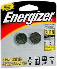 Energizer Watch/Electronic Batteries - 2 Each