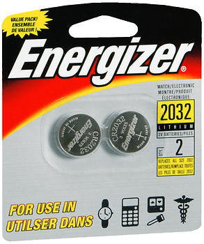 Energizer Watch/Electronic Batteries - 2 Each