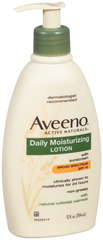 Aveeno Active Naturals Daily Moisturizing Lotion With Sunscreen SPF 15 - 12 Ounces - 1 Each