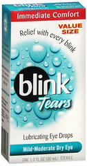 blink Tears Lubricating Eye Drops Mild-Moderate Dry - 30 ml - 1 Each