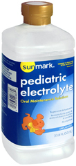 Sunmark Pediatric Electrolyte Oral Maintenance Solution Unflavored - 1 liter - 1 Each