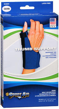 Sport Aid Thumb Support Small/Medium - 1 Each