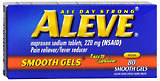 Aleve Pain Reliever/Fever Reducer, Gelcaps (Gelatin Coated Capsule-Shaped Tablets)  - 80ea