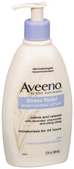 Aveeno Stress Relief Moisturizing Lotion  - 12oz