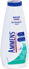 Ammens Medicated Powder Shower Fresh  -  11 OZ