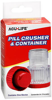 Acu-Life Pill Crusher & Container - 1 EA