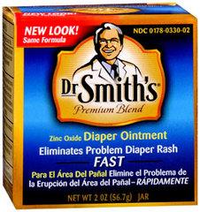 Dr. Smith's Diaper Ointment Smiths - 2 Ounces - 1 Each