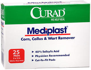 Curad Mediplast Pads 2 Inches X 3 EXTRA LARGE - 25 Each