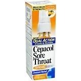 Cepacol Sore Throat Spray, Maximum Strength, Honey Lemon - 4oz