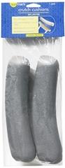Sunmark Crutch Cushions Grey - 1 Each
