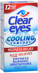 Clear Eyes Cooling Comfort Redness Relief Eye Drops - 0.5 Ounces