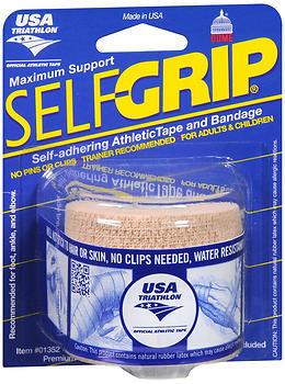 """SelfGrip Self-Adhering Athletic Tape Bandage 2"""""""" Beige - 1 EA"""
