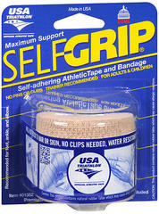 "SelfGrip Self-Adhering Athletic Tape Bandage 2"""" Beige - 1 EA"