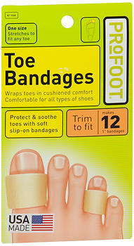 ProFoot Toe Bandages Medium - 1 EA