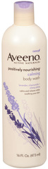 Aveeno Active Naturals Calming Body Wash - 16 Ounces - 1 Each