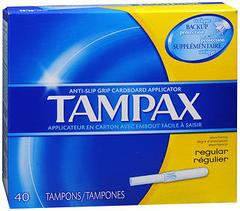 Tampax Tampons Original Regular - 40 Each