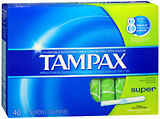 Tampax Tampons Super - 40 Each