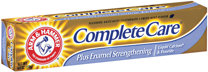 Arm & Hammer Complete Care Enamel Strengthening Toothpaste Fresh Mint - 6 Ounces