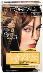 L'Oreal Preference - 5G Medium Golden Brown - 1 Each