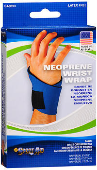 Sport Aid Neoprene Wrist Wrap - 5 - 8.5 Inch - 1 Each