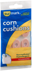 Sunmark Corn Cushions Non-Medicated - 9 Each