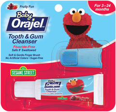 Orajel Tooth & Gum Cleanser, Mixed Fruit  - 0.7oz